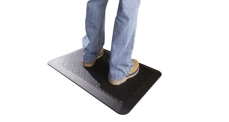 tapis antiderapant et antifatigue